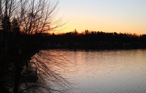 Sunrise on the Merrimac River