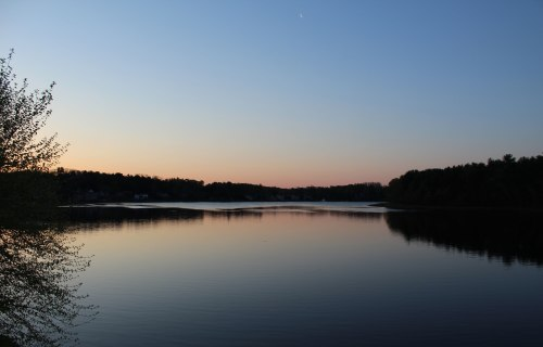 Sunrise May 14th on the Merrimack River