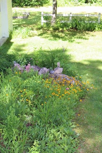 Garden in North Bridgton (Maine)