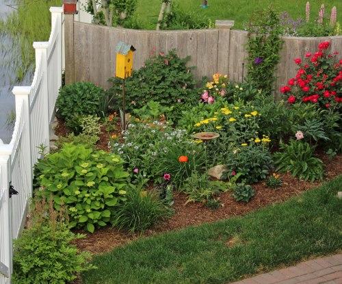 Sideyard-garden