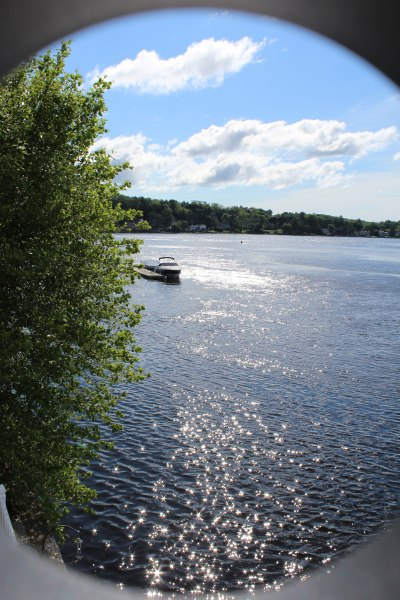 Sparkling afternoon along the Merrimack River